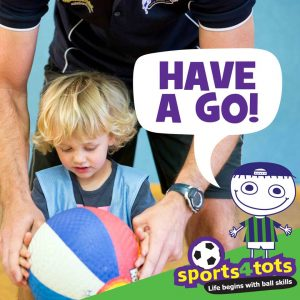 have a go at Sports4tots class