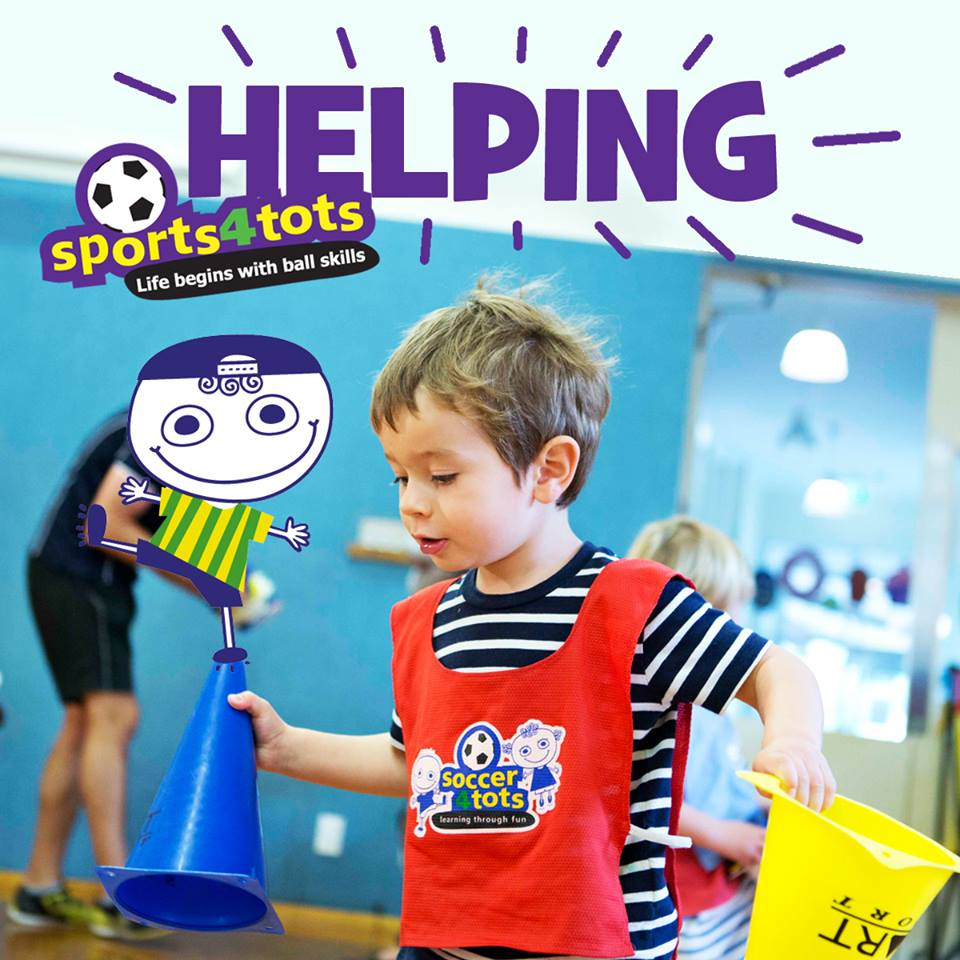 Helping skills at Sports4tots